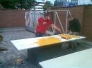 Aufbau einer Boulderwand am BFZ_7