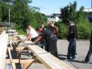 Aufbau einer Boulderwand am BFZ_15